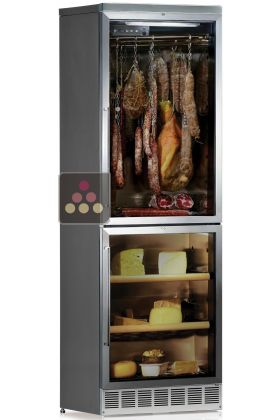 Combination of built in cold meat & cheese cabinets for up to 100kg