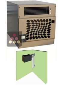 Air conditioner for natural wine cellar for room of up to 48m3 