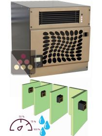 Air conditioner for wine cellar with humidifier and heating système for room of up to 30m3 - through wall FRIAX