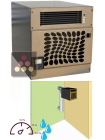 Air conditioner for wine cellar with humidifier and heating system for room of up to 30m3 - external installation FRIAX