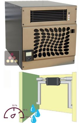 Air Conditioner For Wine Cellar With Humidifier And