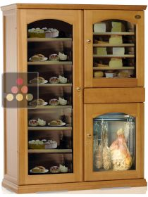 Combination of 3 refrigerated cabinets for cheese, delicatessen and dessert storage CALICE