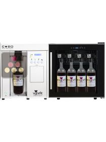 By the glass wine dispenser for 75cl and Magnum bottles with single temp  refrigeration system WINEFIT