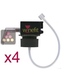 Set of 4 corks for Winefit dispenser WINEFIT