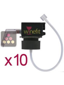 Set of 10 corks for Winefit dispenser WINEFIT
