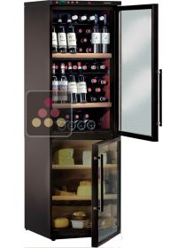 Combination of wine & cheese cabinets for up to 40Kg plus 120 bottles CALICE