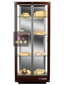 3-sided refrigerated display cabinet for storage or service of cheese CALICE