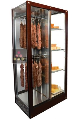 Old Models 3 Sided Refrigerated Display Cabinet For