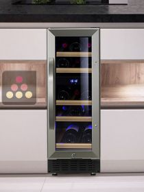 Dual temperature built in wine cabinet for storage and/or service DOMETIC