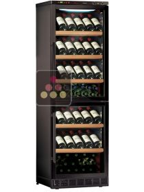 Combined 2 Single temperature built-in wine service or storage cabinets CALICE