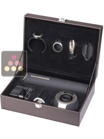 Wine waiter set 6 accessories CLIMADIFF