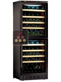 Dual temperature built in wine storage and service cabinet CALICE
