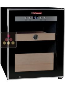 Single Temperature Cigar Humidor with water container humidifier La SOMMELIERE