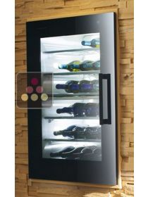 Dual temperature built in wine service cabinet - Left hinged V-ZUG