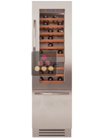 Multipurpose built-in wine cabinet with tri-mode compartment - Classic Design KITCHENAID