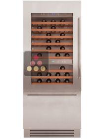 Multipurpose built-in wine cabinet with tri-mode compartment - Light Design KITCHENAID