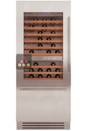 Multipurpose Built In Wine Cabinet With Tri Mode Compartment   Light Design  KITCHENAID, ACI KIT705E   My Wine Cabinet