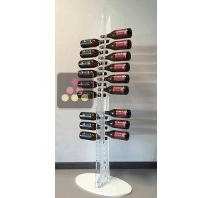 Free Standing display in Plexiglass for 24 bottles SOBRIO
