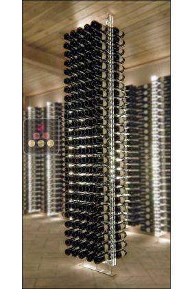 Free Standing Wine Rack In Plexiglass For 240 Bottles