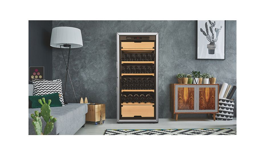 Multi-Purpose Ageing and Service Wine Cabinet for fresh and red wines