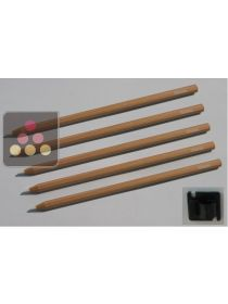 Set of 5 chalks + holder TRANSTHERM