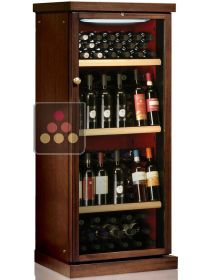 Single temperature wine cabinet for storage or service CALICE