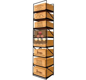 The only solution for storing 8 cases of wine and 96 bottles MODULORACK