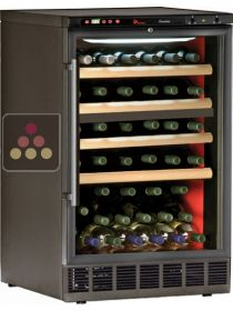 Built-in wine cabinet - 2 temperatures for wine storage and service CALICE