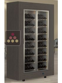 Multipurpose island unit wine cabinet for service or storage CALICE