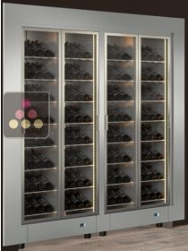Built-in Combination of two modular multipurpose wine cabinets CALICE DESIGN