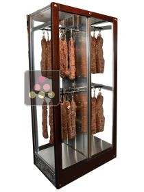 4-sided refrigerated display cabinet for storage or service of delicatessen CALICE