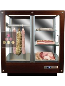 3-sided refrigerated display cabinet for storage or service of delicatessen CALICE