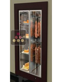 Built-in cheese and delicatessen cabinet for storage or service CALICE DESIGN