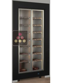 Built-in refrigerated display cabinet for chocolate storage CALICE
