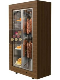Freestanding cheese and delicatessen cabinet for storage or service CALICE