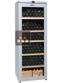 Multi-Temperature wine service and storage cabinet La SOMMELIERE