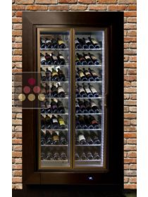 Built-in crossing multipurpose wine cabinet for service or storage CALICE DESIGN