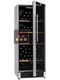 Wine cabinet for multi temperature service or single temperature storage  La SOMMELIERE