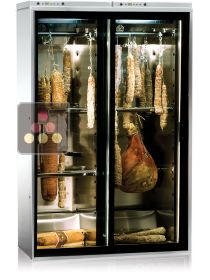 Combination of 2 delicatessen cabinets for up to 100kg with sliding doors CALICE