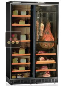 Combined built in delicatessen & cheese cabinet - up to 180kg capacity CALICE