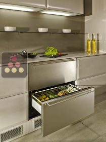Drawer fridge with stainless steel front NORCOOL
