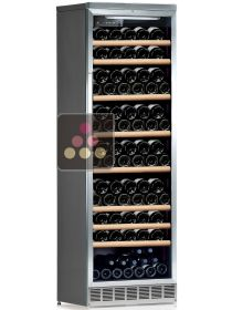Multi-temperature built in wine service and storage cabinet CALICE