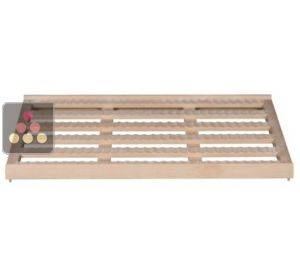 Beech wood storage shelf for wine cabinets in the Prestige range La SOMMELIERE