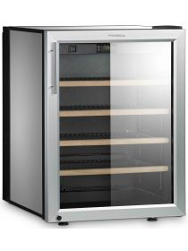 Single temperature silent built-in wine cabinet for storage or service DOMETIC