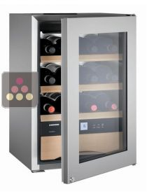 Single-temperature wine cabinet for storage or service + chocolates