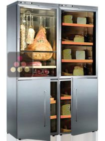 Combination of 2 delicatessen cabinets and 2 cheese cabinets CALICE