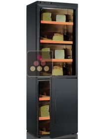 Combination of 2 single temperature cheese cabinets CALICE