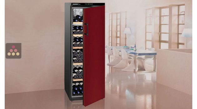 Single-temperature wine cabinet for ageing & storage