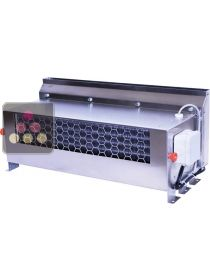 Cellar air conditioner specific for display with integration box, supply and extract grids FRIAX
