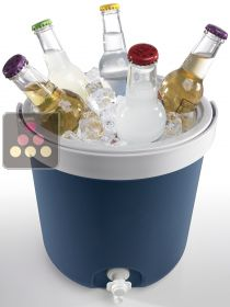 Drink cooler, ce bucket and drinking funtain MOBICOOL